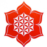 logo flower chakra snipped